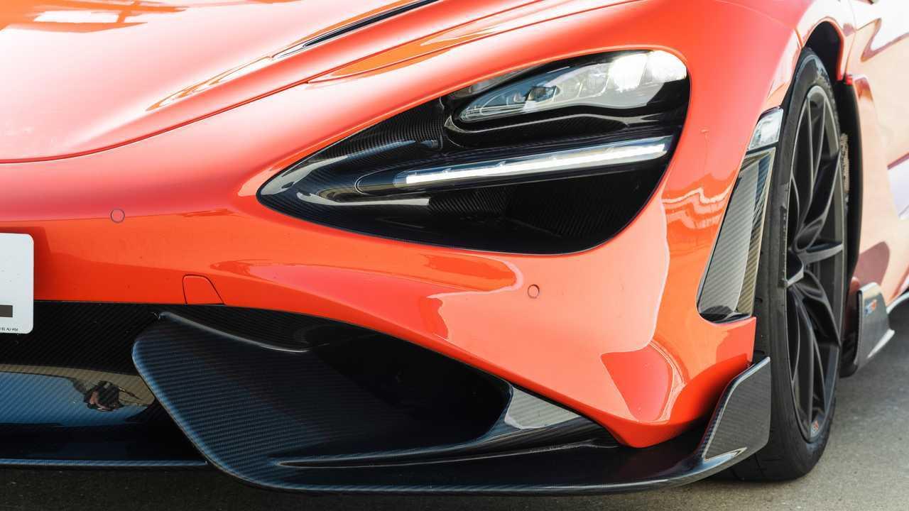 2021 McLaren 765LT headlights low
