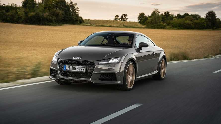 2021 Audi TT Bronze Selection