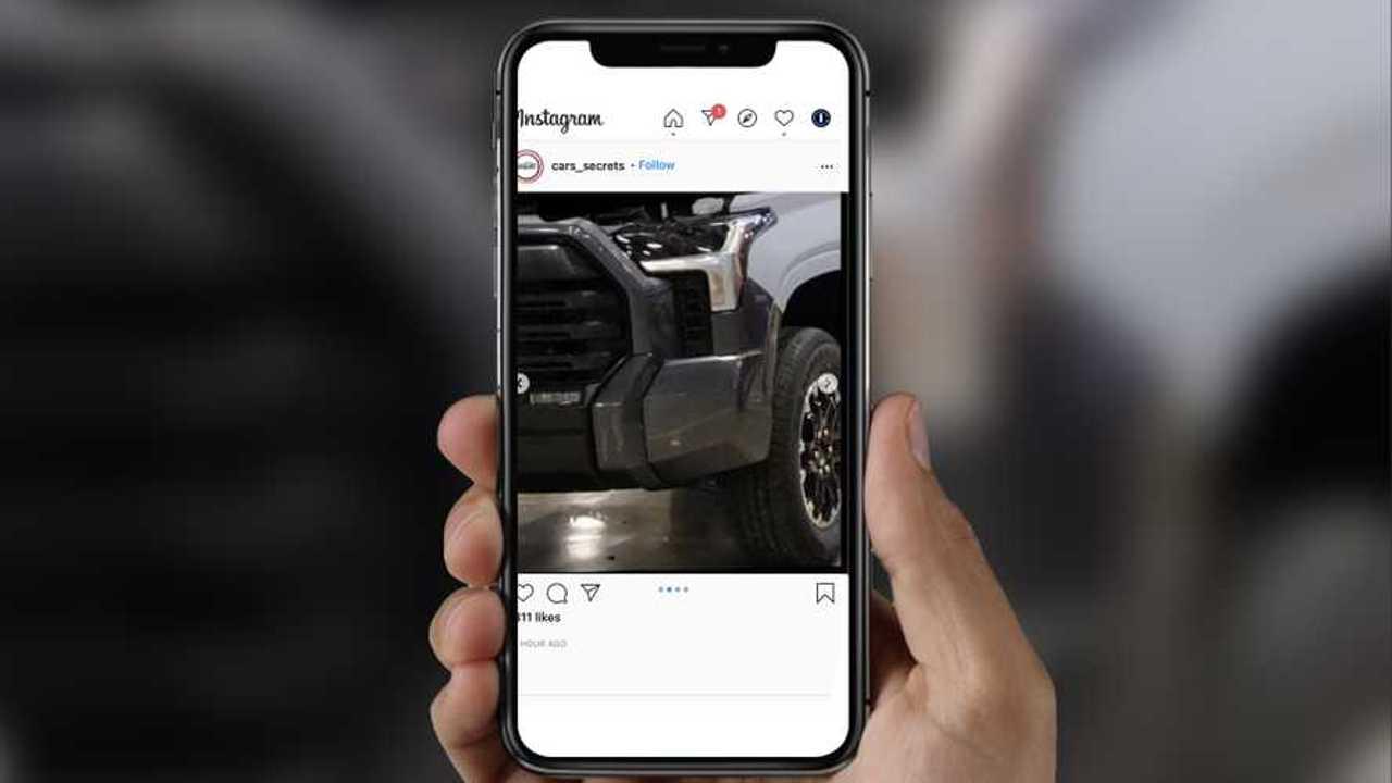 Toyota Tundra Image Leak