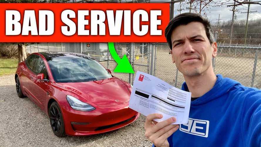 Jason Fenske Has A Big Problem With Tesla Service And Parts