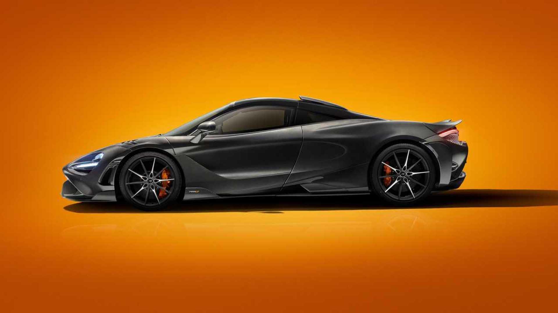 2020 McLaren 765LT Side