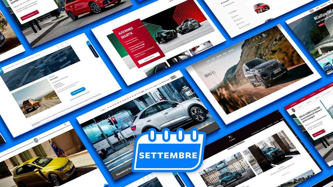 Promozioni auto settembre 2020