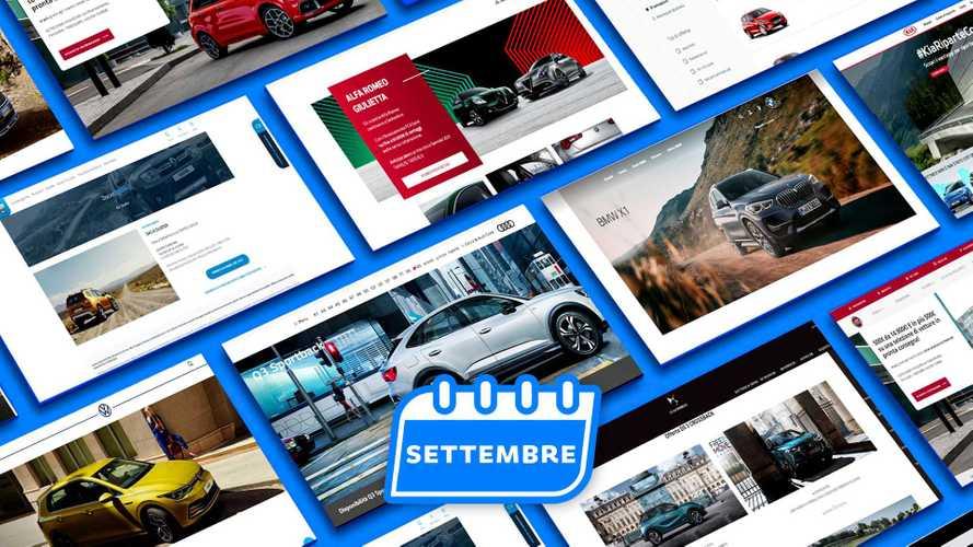 Promozioni auto, tutte le offerte di settembre 2020
