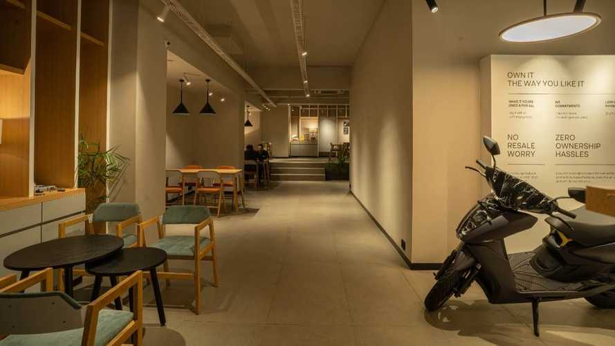 Ather Energy Finally Opens First Showroom In India