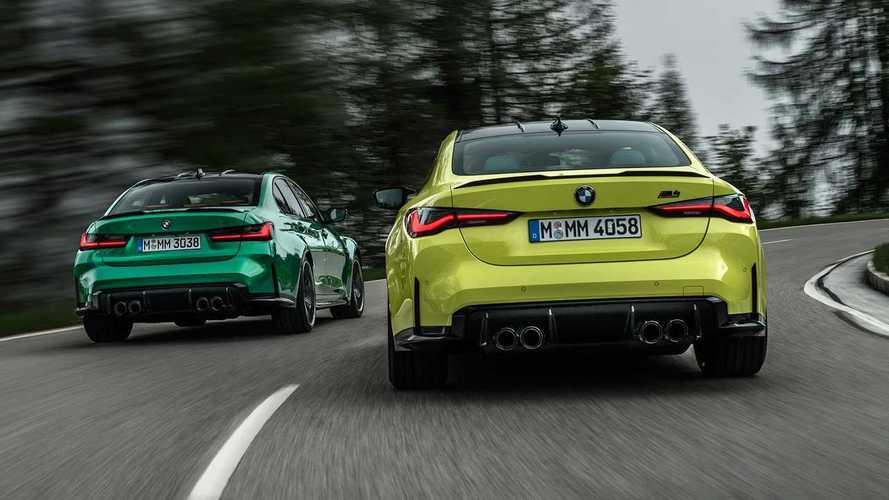 """BMW отложила выход """"заряженного"""" дуэта M3 и M4"""