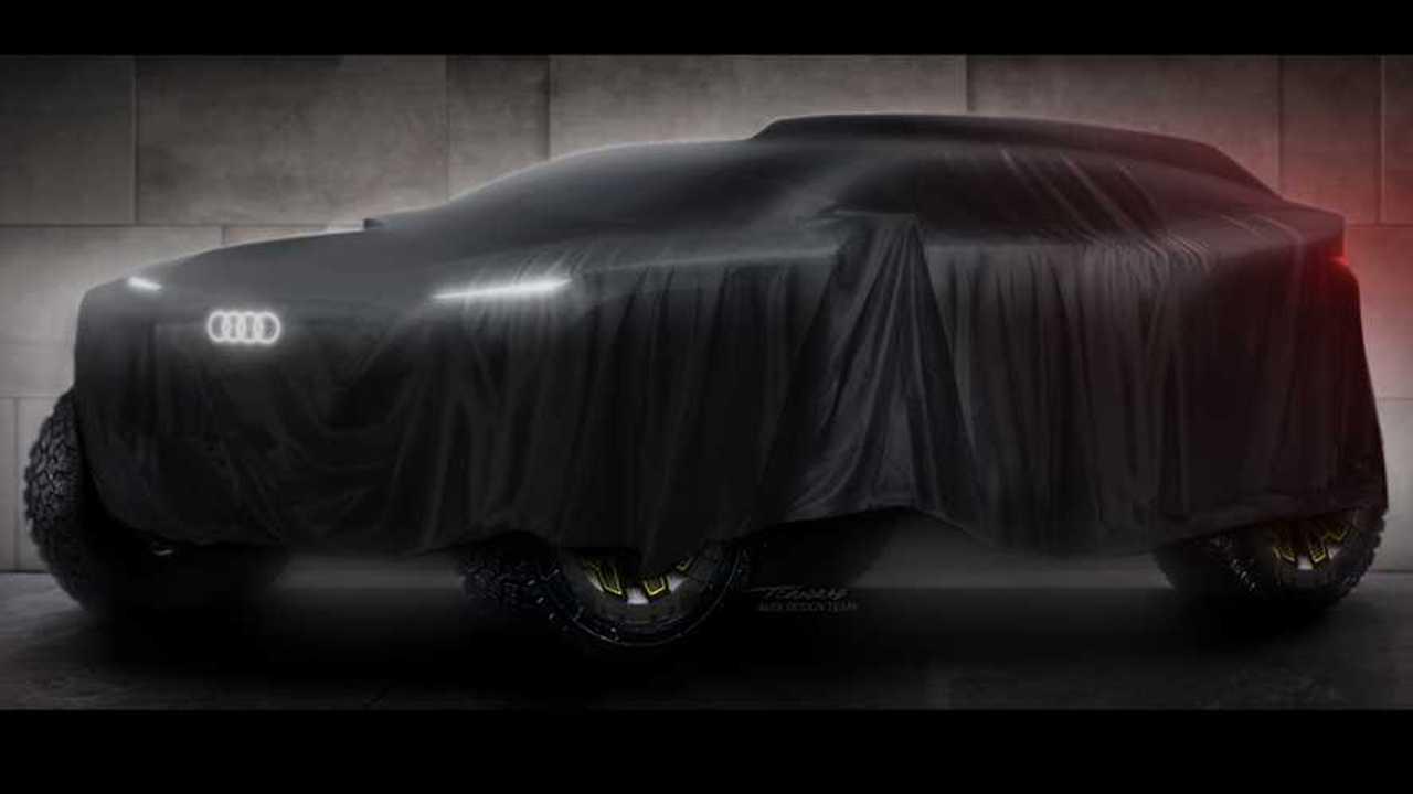 Audi EV Dakar Teaser