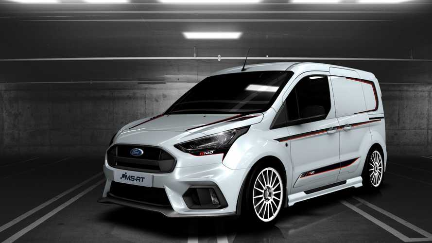 "Ford Transit Connect MS-RT R120, il ""Frozen"" per i più grandi"