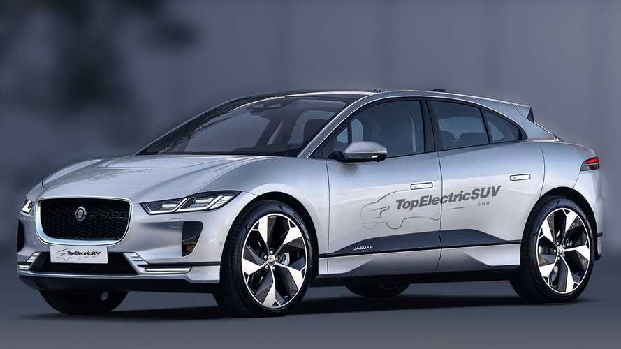 Check out the new Jaguar I-Pace facelift in this accurate rendering