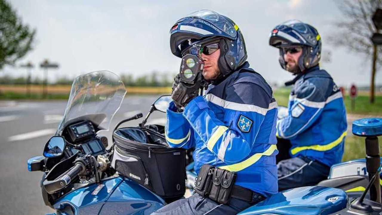 Motards de la Gendarmerie