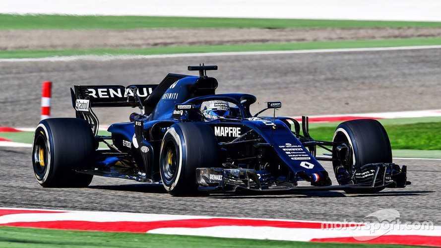 Alonso, amor a primera vista y casi 100 vueltas con el Renault RS18
