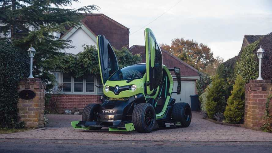 Oakley Design Renault Twizy F1 up for sale in the UK