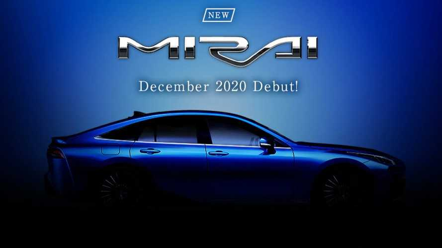 Next-gen Toyota Mirai production version debuts in December