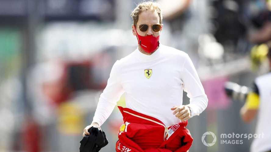 Sebastian Vettel at Italian GP 2020