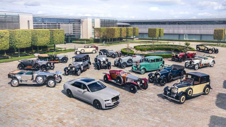 World's oldest Rolls-Royce car club welcomes new Ghost in Goodwood