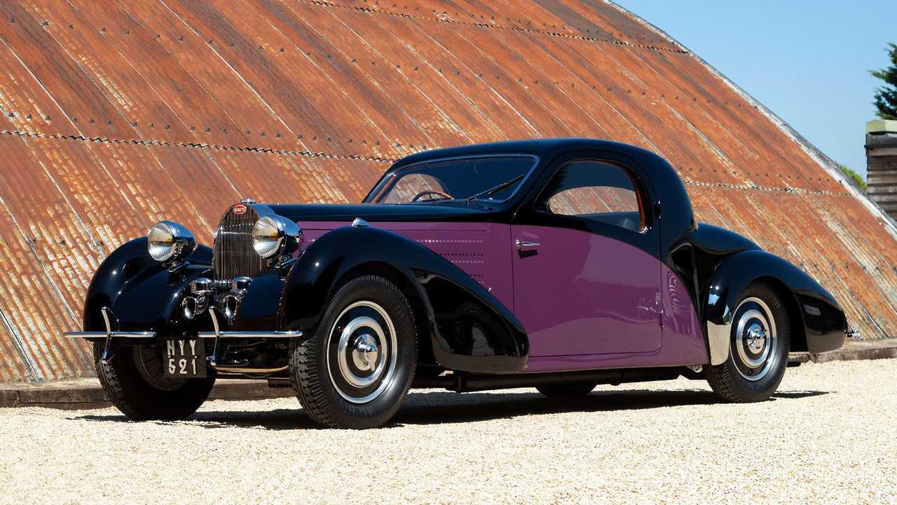 1938 Bugatti Type 57 Atalanta Coupe