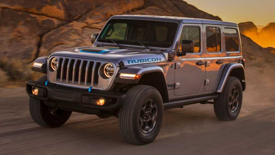 2021 Jeep Wrangler 4xe Debuts With Two Electric Motors, 470 LB-FT