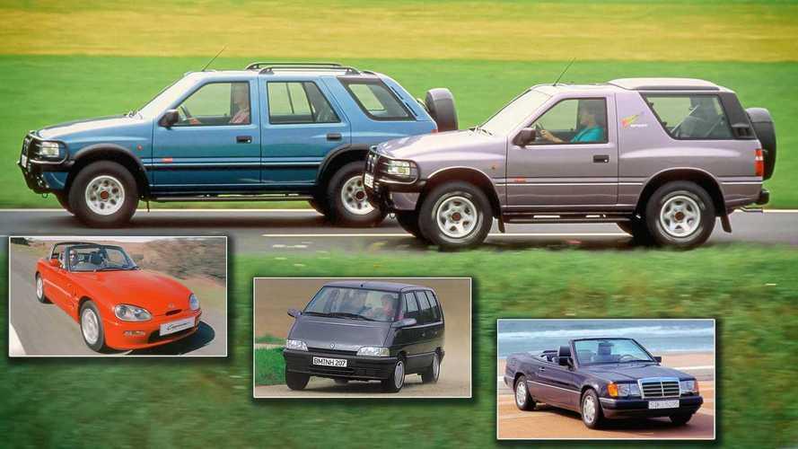 Auto-Neuheiten 1991: Diese Modelle werden 30 Jahre alt