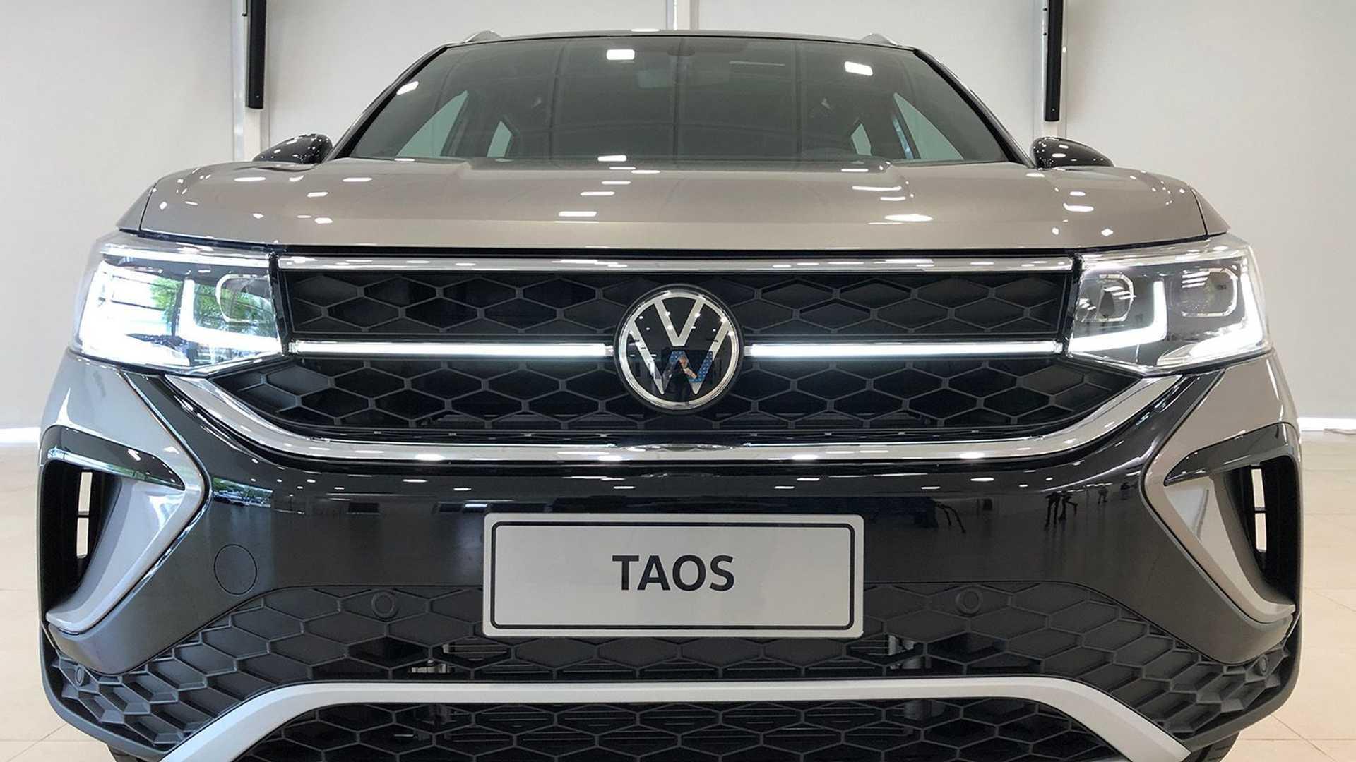 VW Taos 2022 (fotos ao vivo na Argentina)