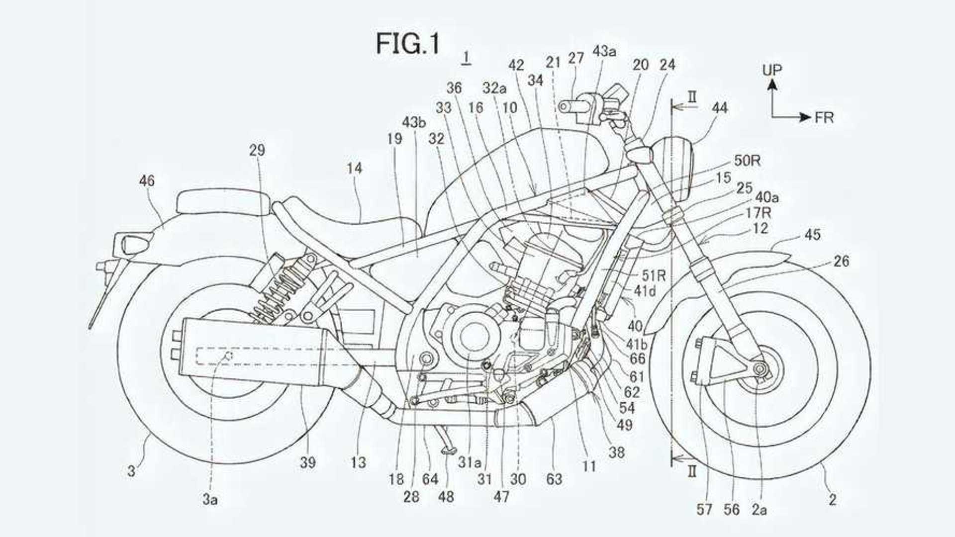 Rumored Honda Rebel 1100 Appears In Patent