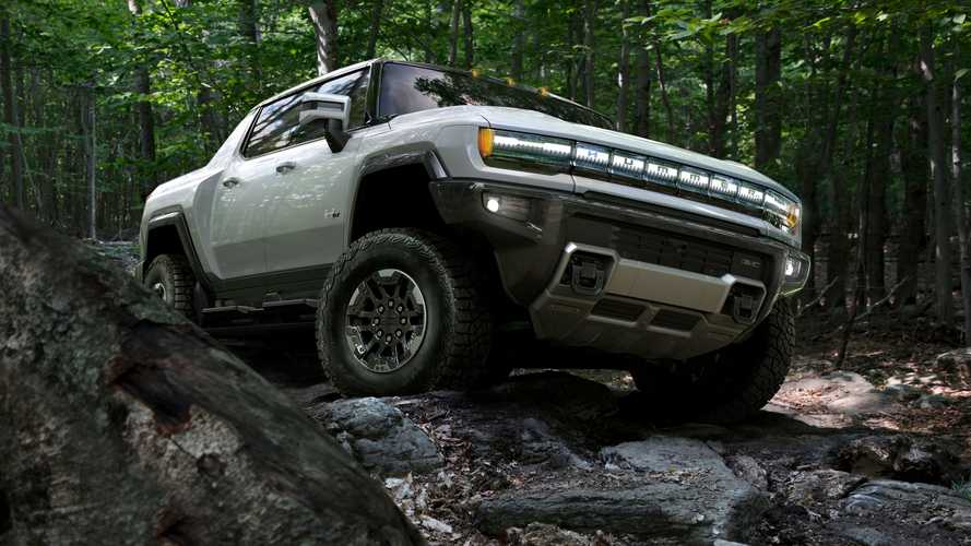 GMC Hummer EV Has Better Approach, Departure Angles Than Jeep Wrangler