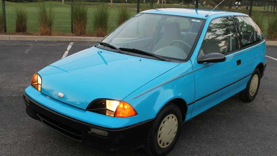 1993 Geo Metro In Pristine Condition Is The Nicest One We've Seen