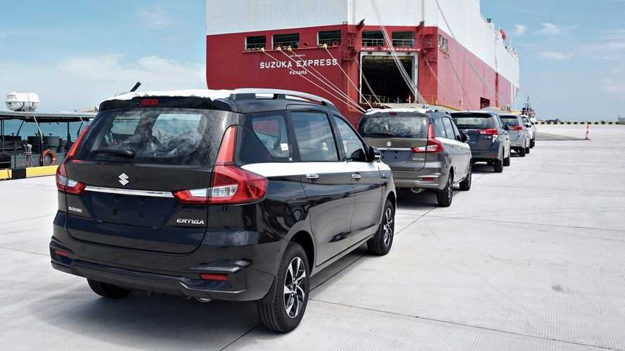 Suzuki Mulai Ekspor Ertiga dari Pelabuhan Patimban