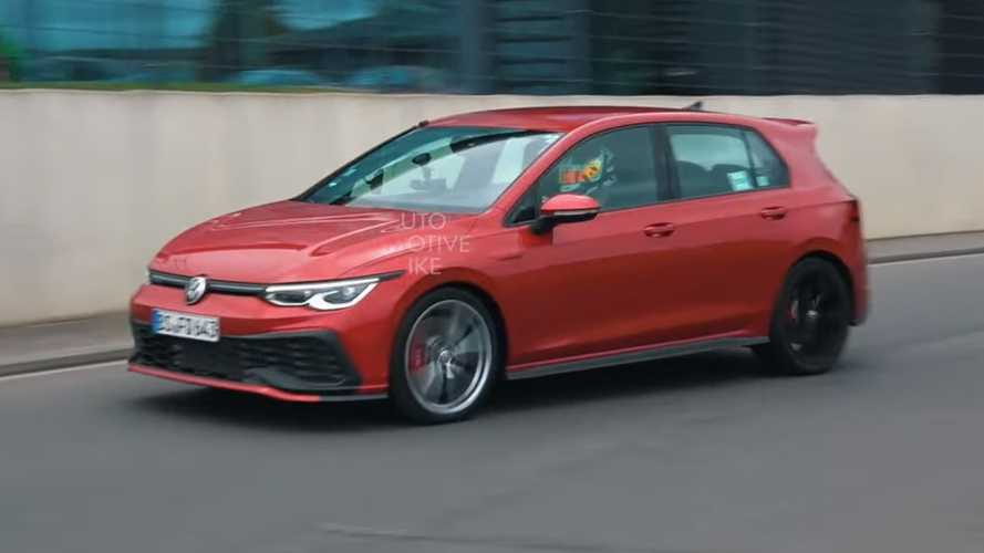 VW Golf GTI TCR spied as Wolfsburg's ultimate front-drive hot hatch
