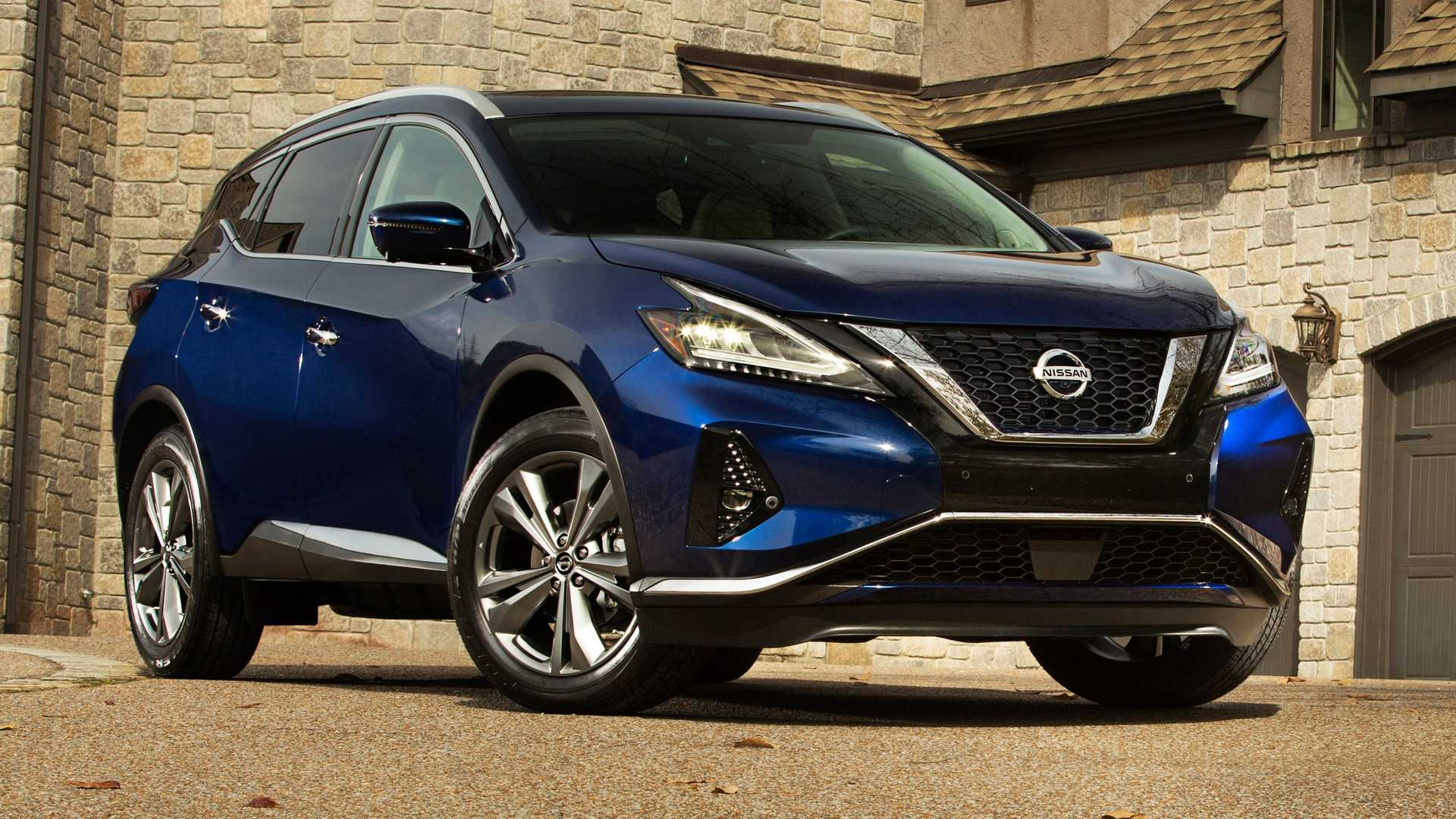 2021 nissan murano gets special edition package, small