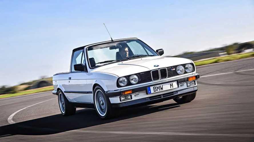 Vergessene Studien: BMW M3 Pick-up (1986)
