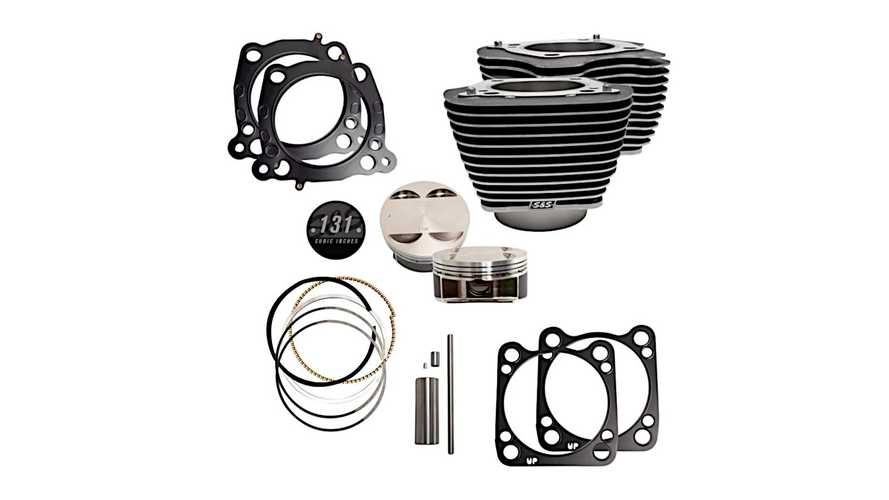 S&S Cycles 131 Cubic Inch Stroker Kit