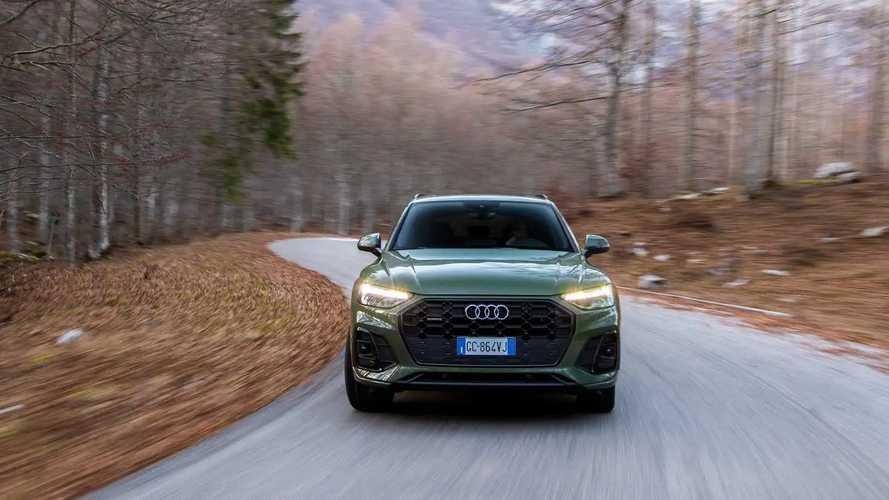 Audi Q5 restyling (2020), la prova