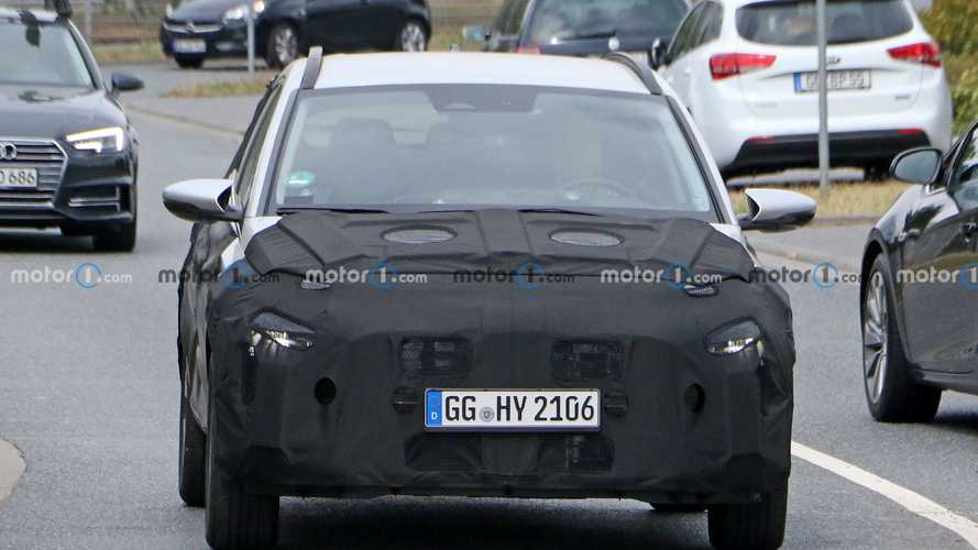 Hyundai Bayon, le prime foto spia
