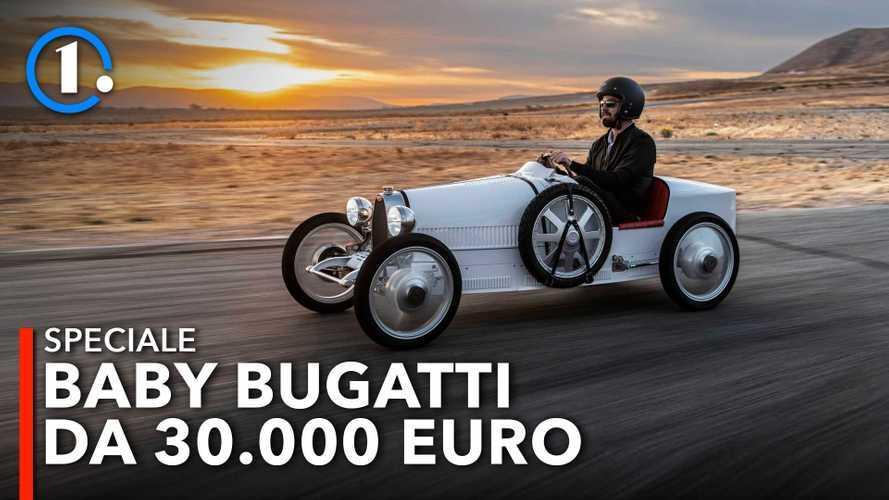 Bugatti Baby II, alla guida del giocattolo tra i più costosi al mondo