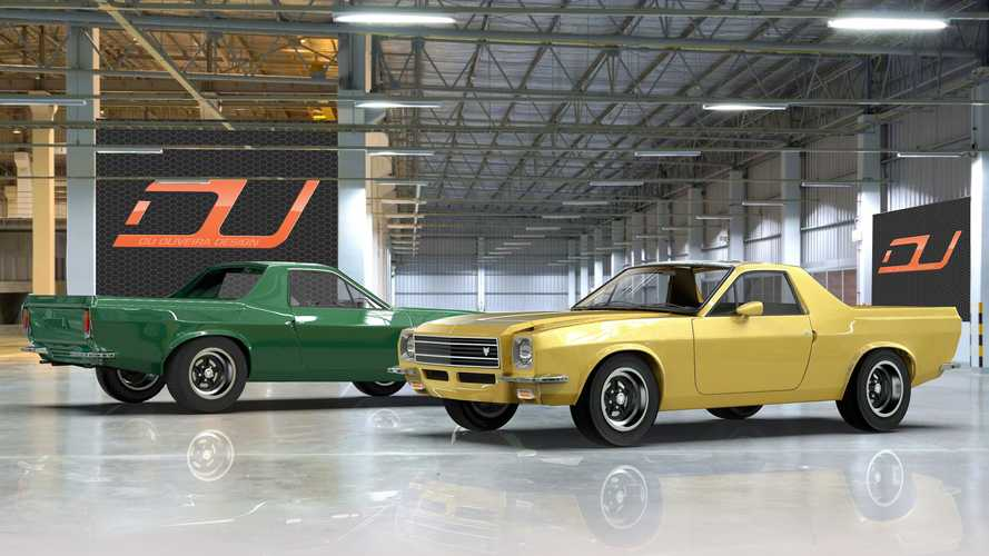 Projecão: Muscle Car brasileiro, Puma GTB poderia ter se tornado uma picape