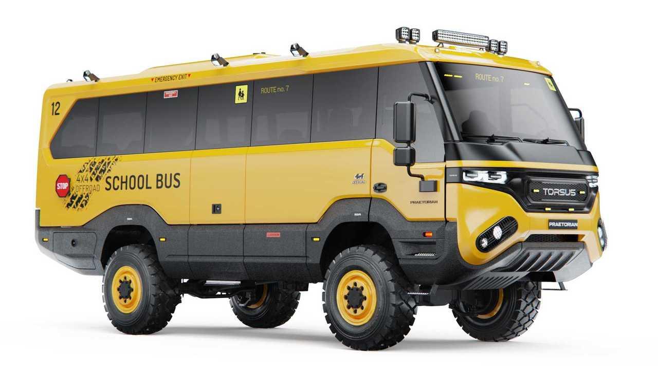 Torsus Praetorian School Bus Side