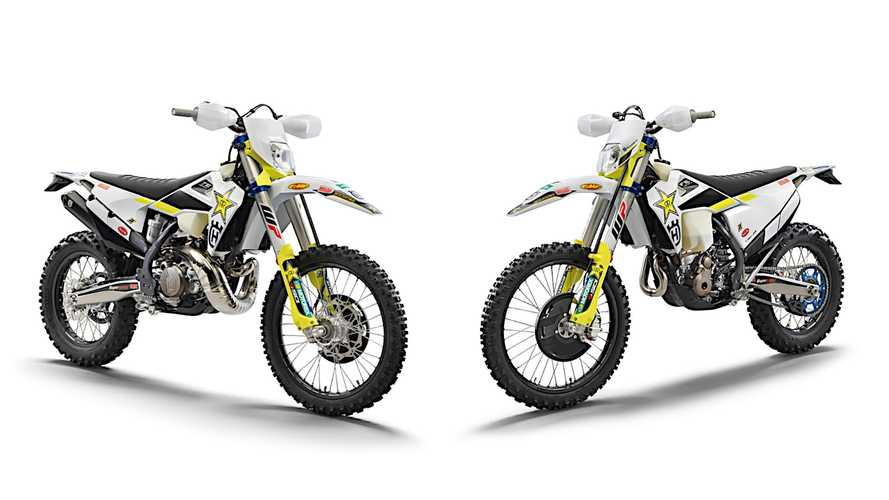 Husqvarna Introduces 2021 TE 300i And FE 350 Rockstar Enduros