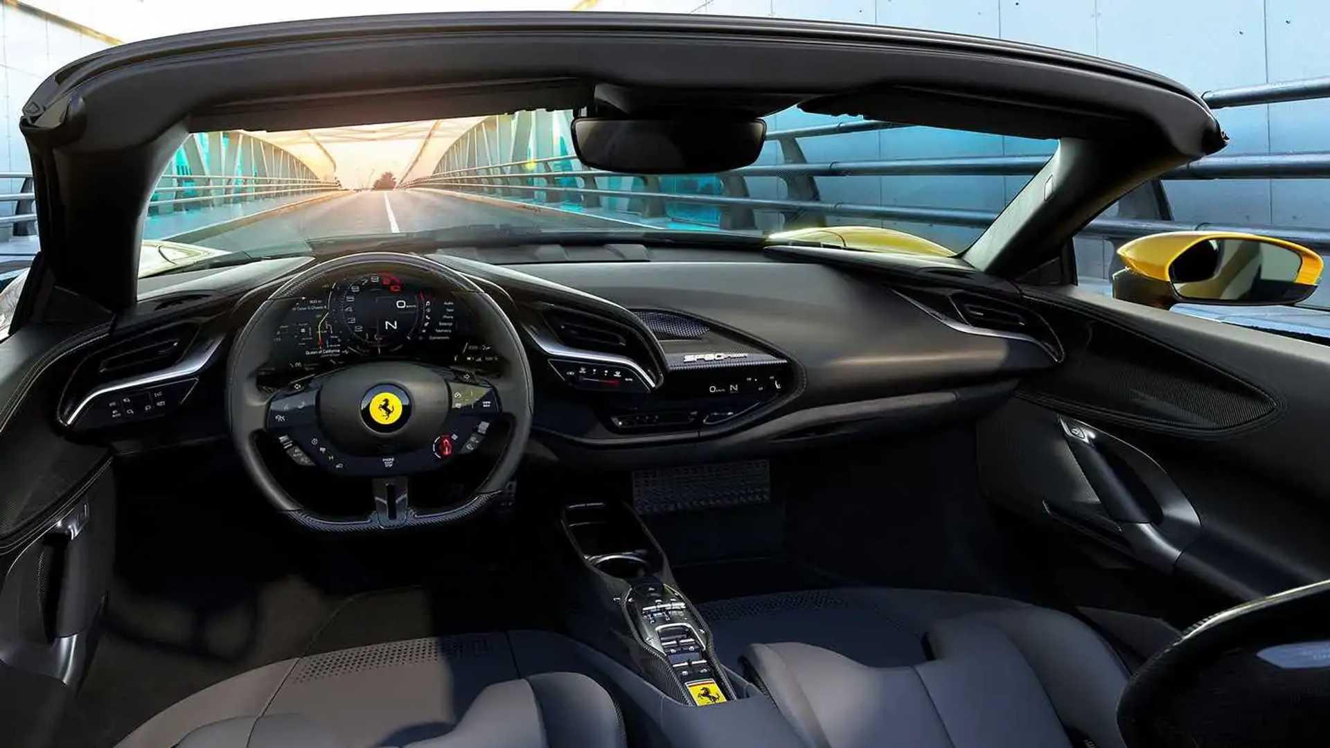 Ferrari Sf90 Spider 2021 Die Offene Version Ist Da