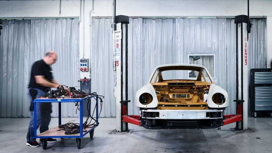 How Porsche's 'Project Gold' was built, from start to finish