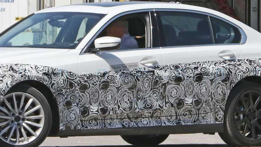 Электрокар BMW 3-й серии вновь заметили на тестах