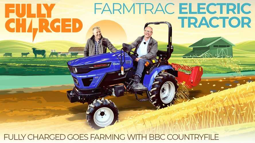 Fully Charged Checks Out The Farmtrac 25G Electric Tractor