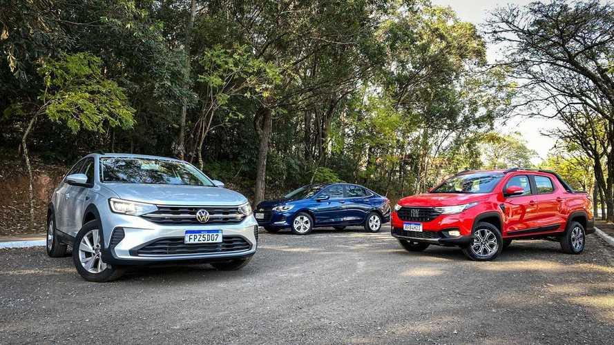 VW lidera pela 3ª vez e Fiat supera Chevrolet nas vendas de agosto; veja ranking