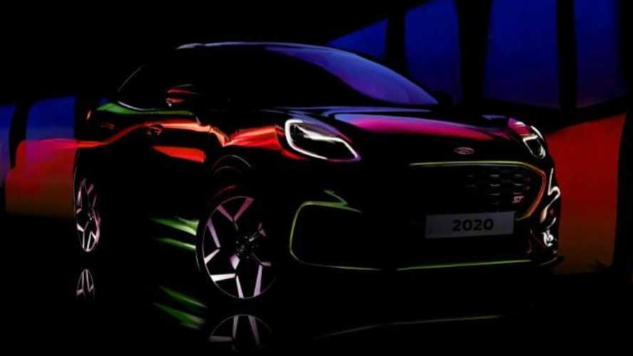 Ford Puma ST teased in short, colourful video