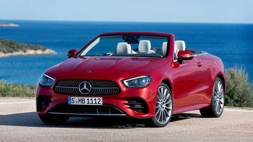 Mercedes Classe E Coupé e Cabrio, ecco i restyling