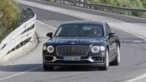 Possible Bentley Flying Spur Speed spied testing with PHEV powertrain