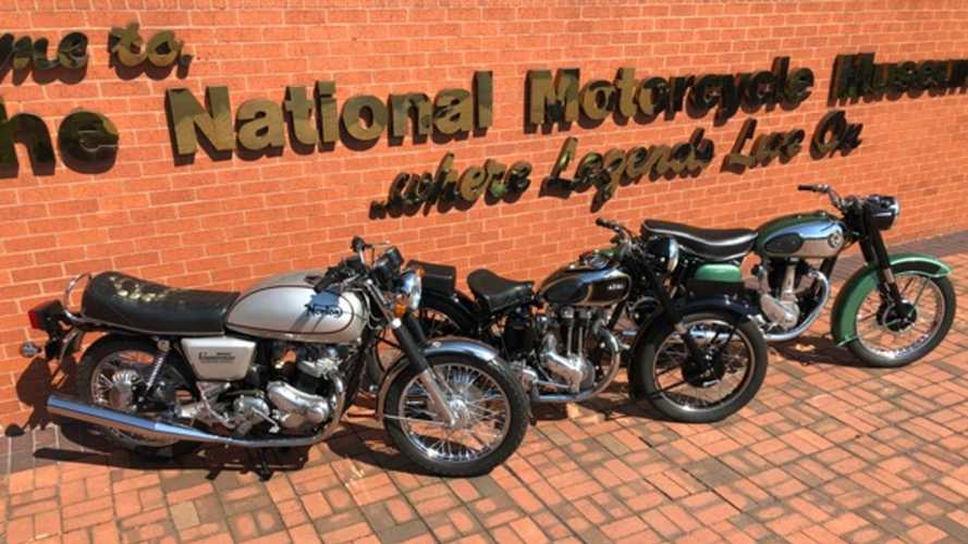Win yourself a 1977 Norton Commando 850 or two other British classics