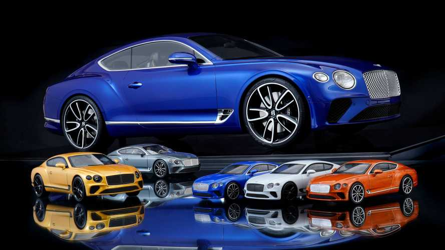 New Bentley Continental GT scale model revealed with intricate detail