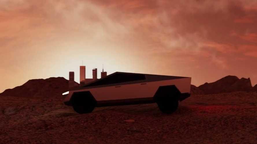 Tesla Cybertruck 'Beyond' Ad: Electric Pickup Truck & Space Unite