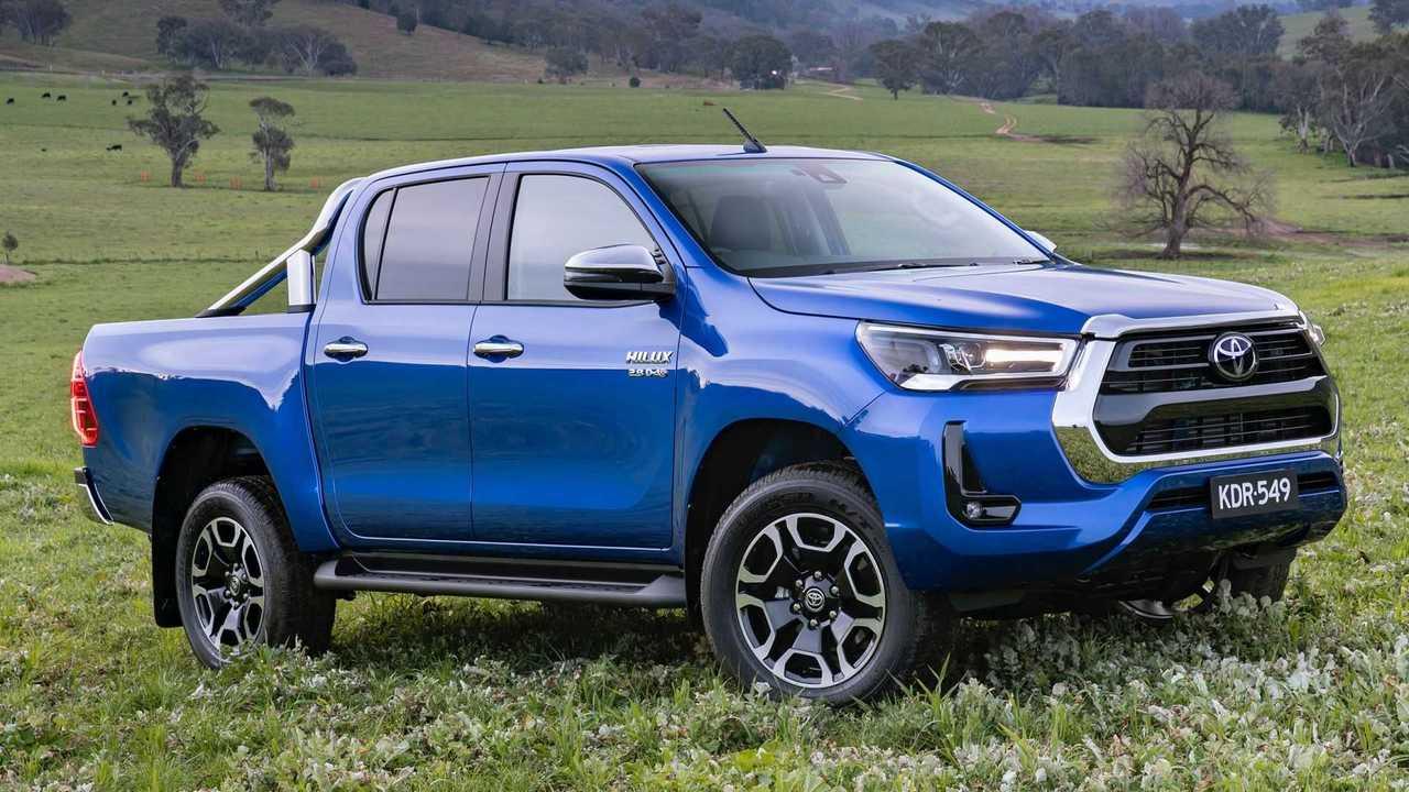 Nova Toyota Hilux reestilizada