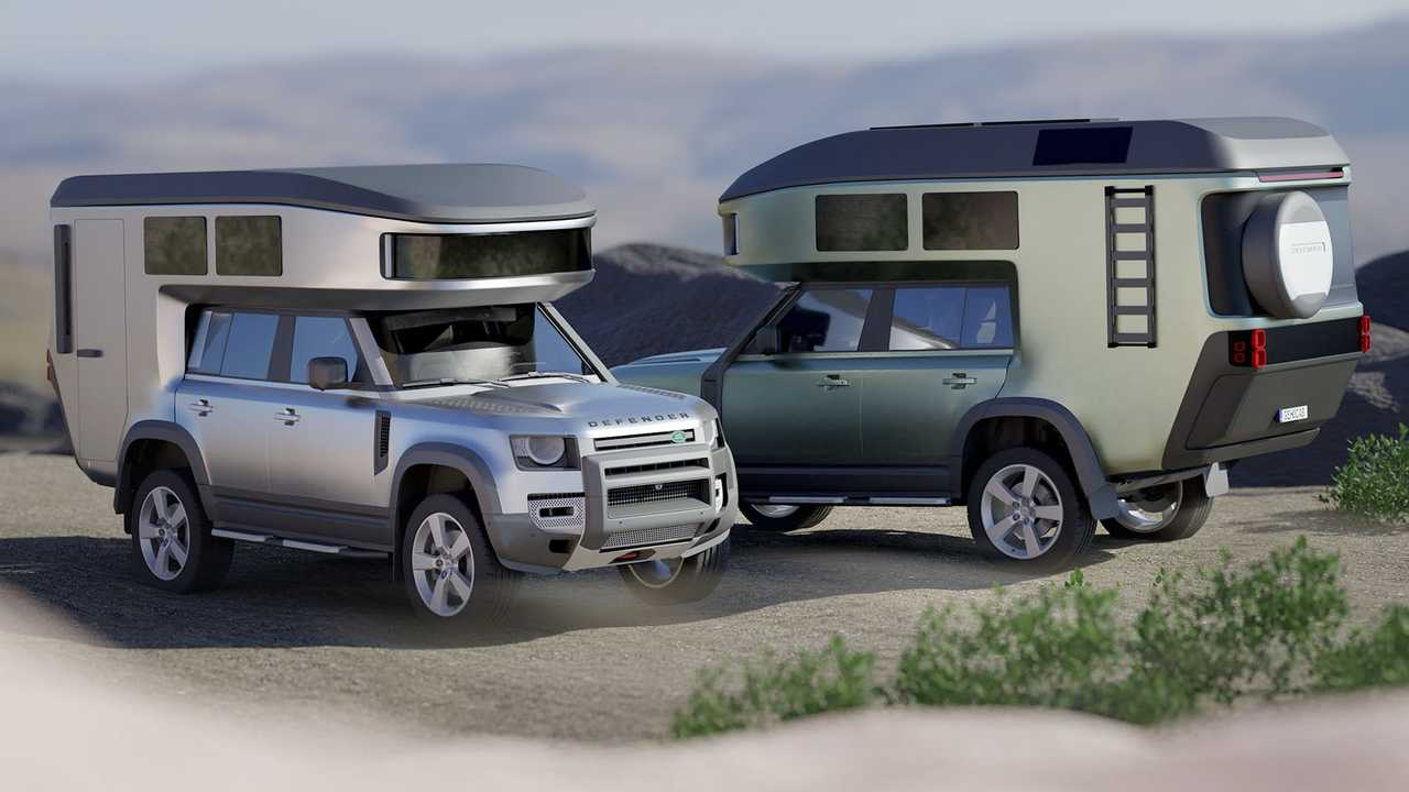 GehoCab Fiete Camper For Ford Bronco And Land Rover Defender
