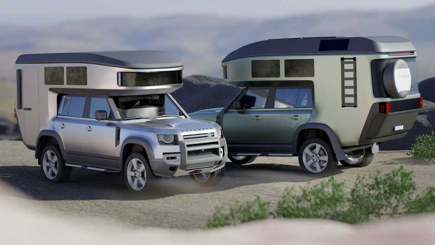 Ford Bronco And Land Rover Defender Getting Carbon Fiber RV Conversion